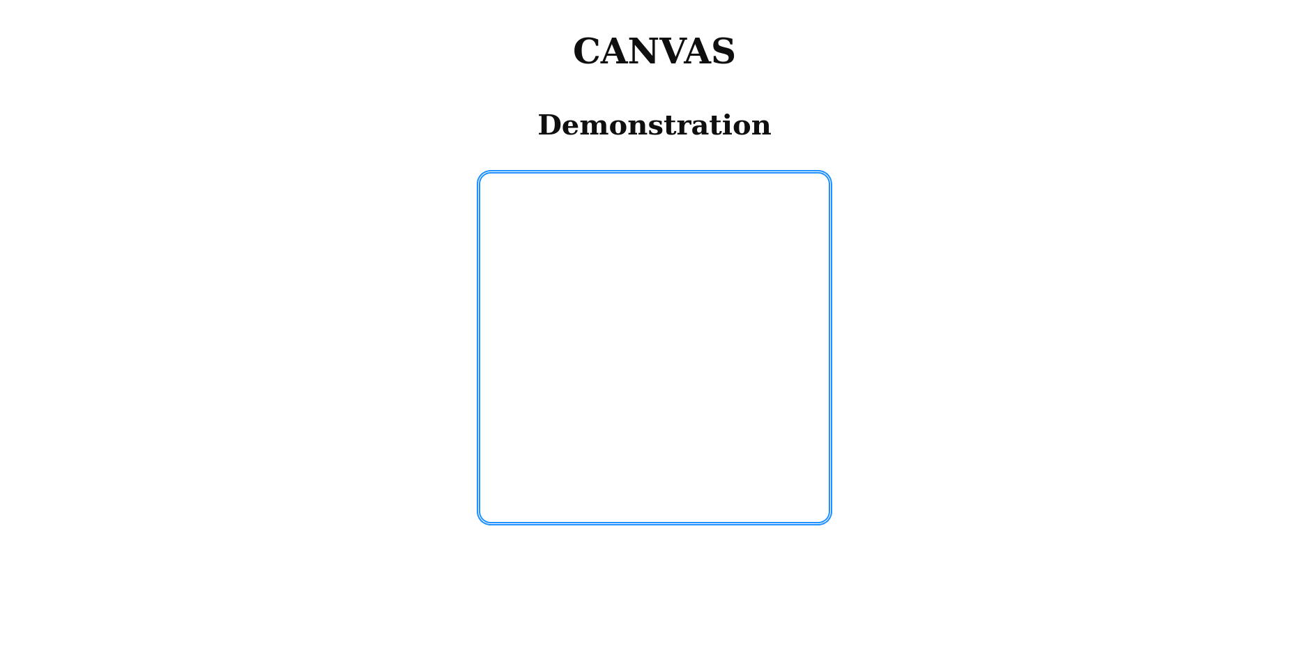 The Canvas example