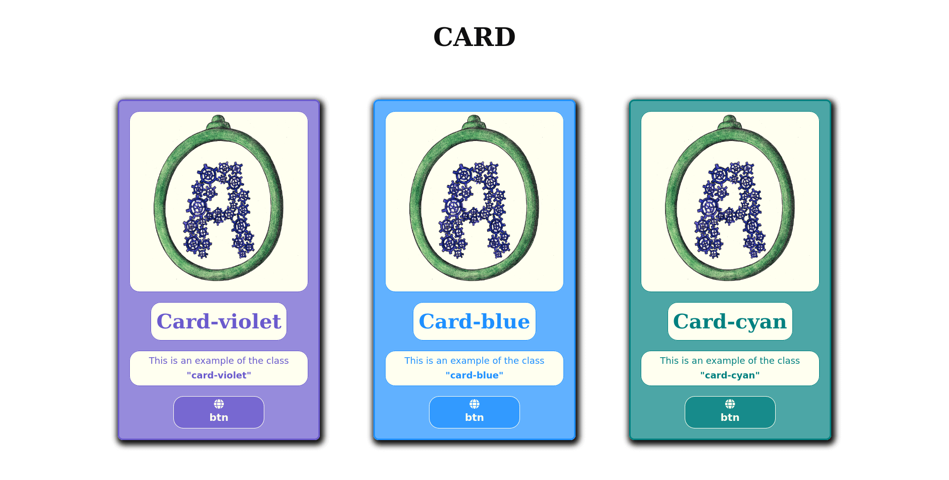 The Card example